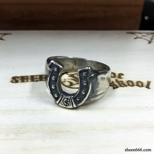 Horse shoe Silver Ring 19호