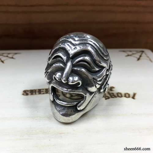 Mask Silver Ring New Ver  18호
